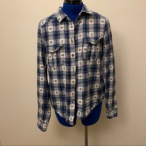 Paige flannel button down